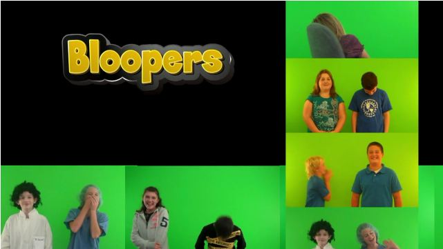 Bloopers:  Practice Makes Perfect