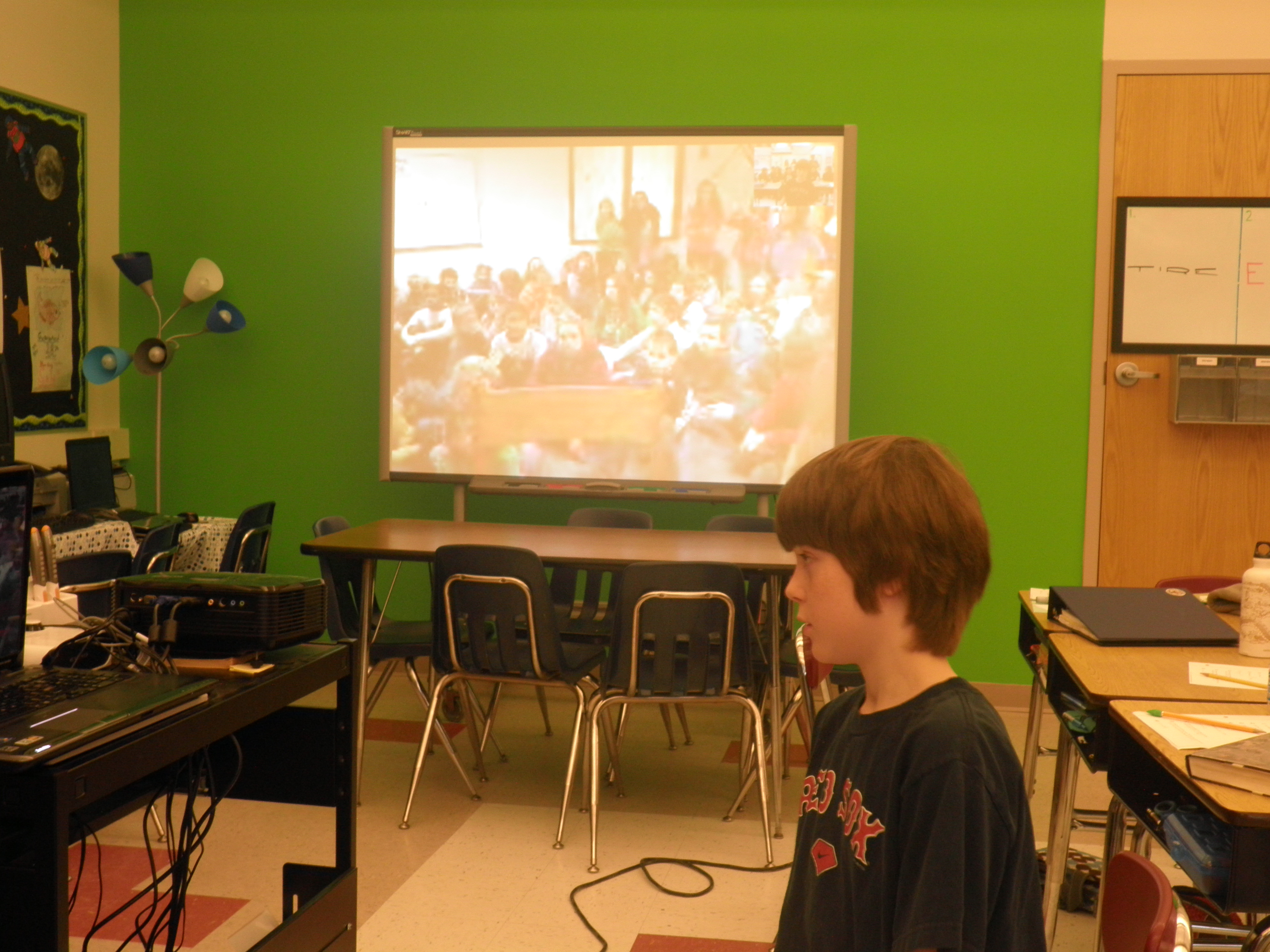 Skyping With the Techie Kids