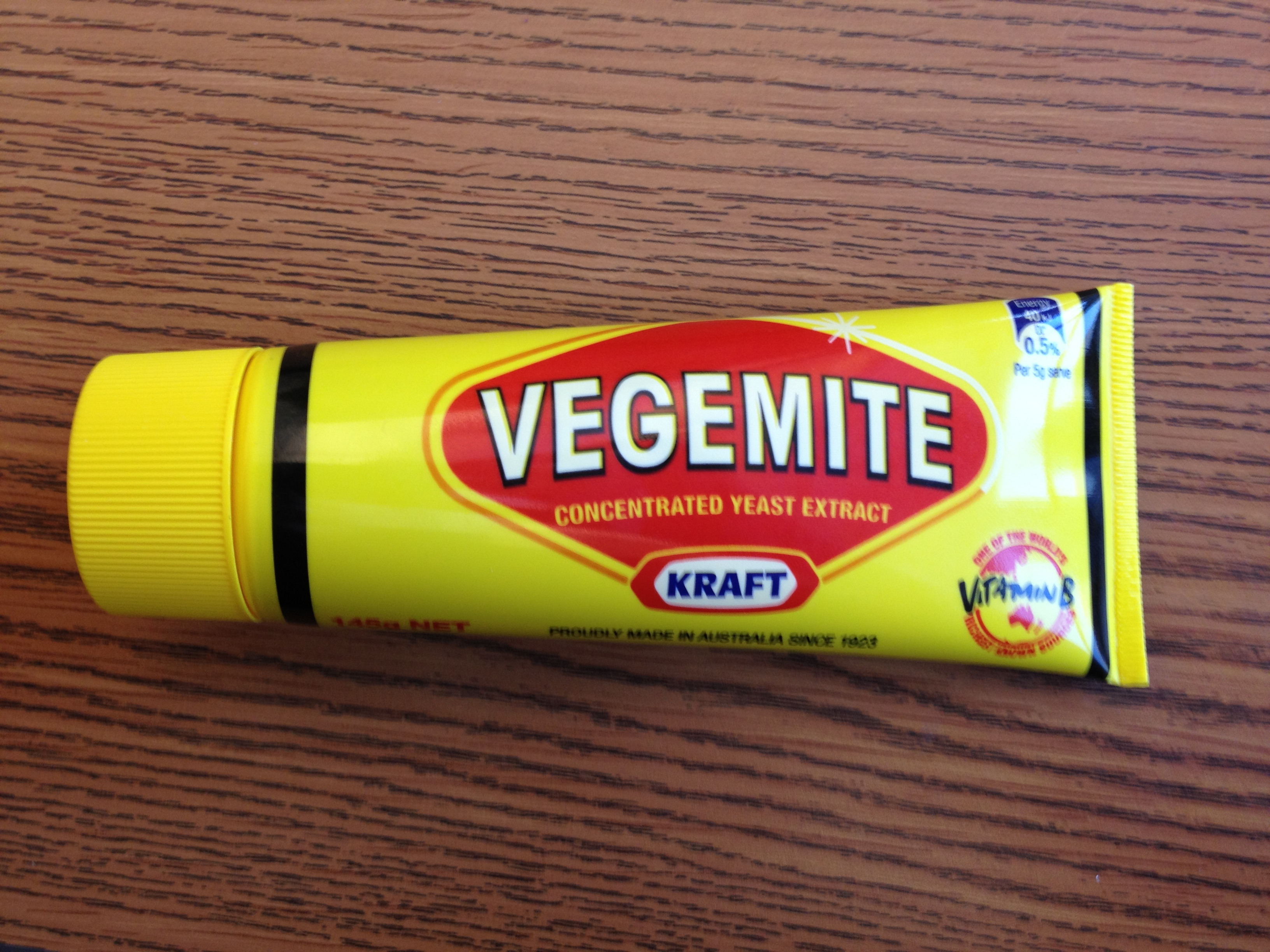 A Bite of Vegemite