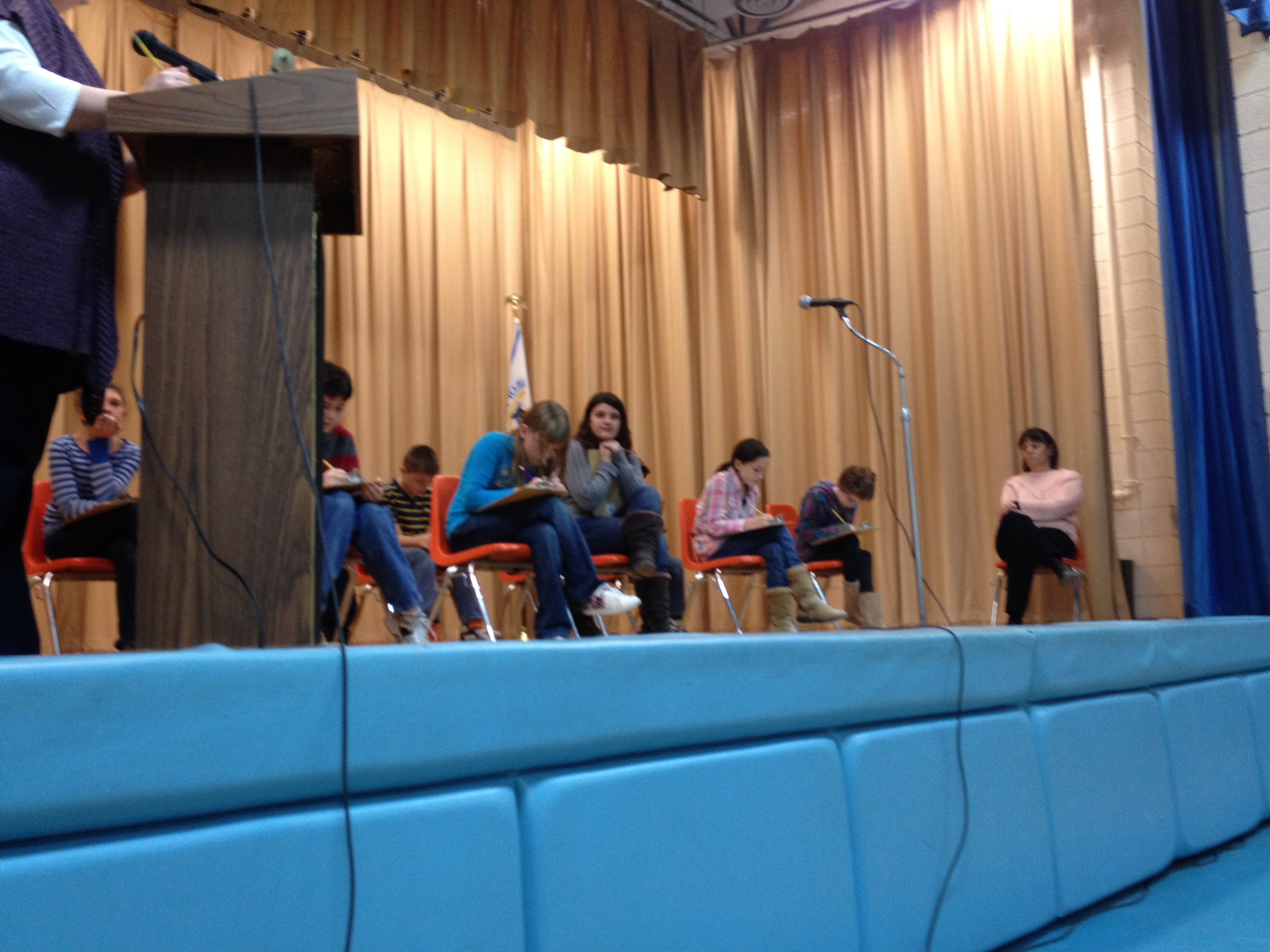 Abuzz for the Geography Bee