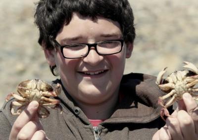 Crabbing on Cape Cod